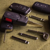 Корпус автомобильного ключа