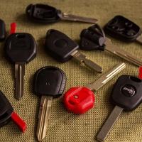 Заготовка автомобильного ключа с местом под чип