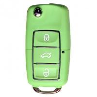 Ключ серии B-01-3 в стиле VOLKSWAGEN LUXURY GREEN для KD900 без встроенного чипа