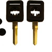 Ключ AUHVP1_W9P2_WT7BP_AD13AP AUDI пл. сквозной лого (B-082)