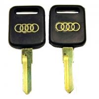 Ключ VO8P_HF56P_HU70_HF70 AUDI (C-084) пласт. золот. лого.