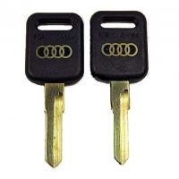 Ключ AUAHP_HF44P2_HU49BP_AD15AP AUDI зол. лого (C-084)