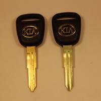 Ключ KIA (C-105) лого золото