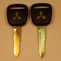 Ключ MITSUBISHI (C-057a) лого золото