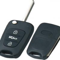 KIA RIO корпус выкидного ключа 3 кн.