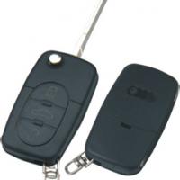 Audi HU66 корпус выкидного ключа 3 кнопки  под батарейку 2032