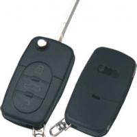 Audi HU66 корпус выкидного ключа 3 кнопки под батарейку 1616