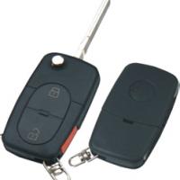 Volkswagen HU66 корпус выкидного ключа 2 кнопки  под батарейку CR1616 Китай