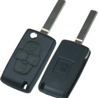 Peugeot  CITROEN  VA2 корпус выкидного ключа  4 кнопки  ( с местом для батареи )
