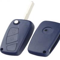 Fiat SIP22 корпус выкидного ключа 2 кнопки синий