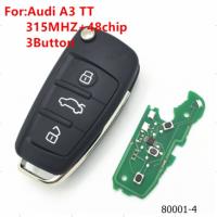 Ключ Audi A3 TT 3кн 315Mhz + 48chip