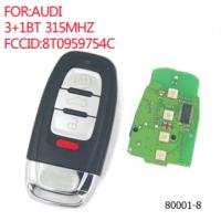 Ключ Audi 3+1кн 315Mhz