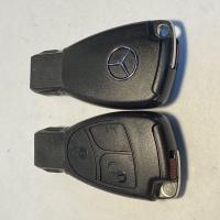 Mercedes Benz 3кн рыбка без хром вставки (старые модели)