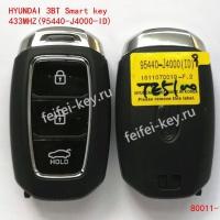 Смарт Ключ HYUNDAI 3кн 433Mhz (95440-J4000ID)