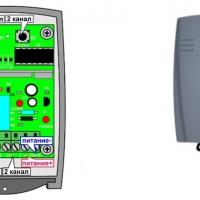 Радиоприемник для шлагбаумов универсальный YET402PC-V2.0