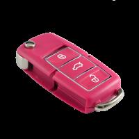 Ключ серии B-01-3 в стиле VOLKSWAGEN LUXURY PINK для KD900 без встроенного чипа