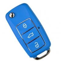 Ключ серии B-01-3 в стиле VOLKSWAGEN LUXURY BLUE для KD900 без встроенного чипа