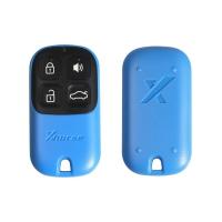 Универсальный ключ с Д/У серии XK в стиле Honda (синий) 4кн без встроенного чипа