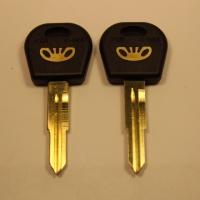 Ключ DAEWOO/CHEVROLET DAE4P1_DW1P_DWO5_DW1 лого золото (C-094b)