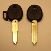 Ключ с местом под чип HYUNDAI (B-087a)