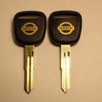 Ключ DAT9P_NS4P30_DAT11BP/DAT11P_DA21BP лого золото (C-078b)