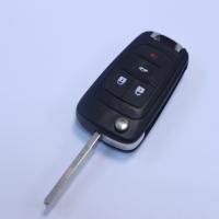 Chevrolet HU100  корпус выкидного ключа 4 кнопки