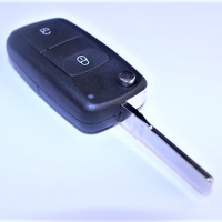 Volkswagen HU66 корпус выкидного ключа  2 кнопки
