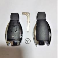 Корпус автомобильного ключа MERCEDES 2 кнопки (рыбка)