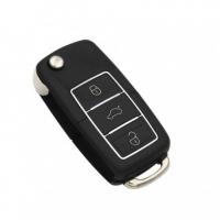 Ключ серии B-01-3 в стиле VOLKSWAGEN LUXURY BLACK  для KD900 без встроенного чипа
