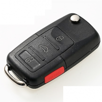 Ключ серии B-01-3+1 в стиле VOLKSWAGEN для KD900 без встроенного чипа